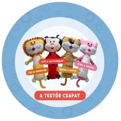 LTP1379 - Plüss állat biztonsági övre