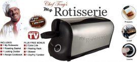 Polymobil - LTK6194 Rotisserie kompakt sütő