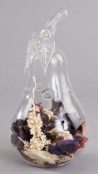 QCH95180 Potpourri tartó üvegből